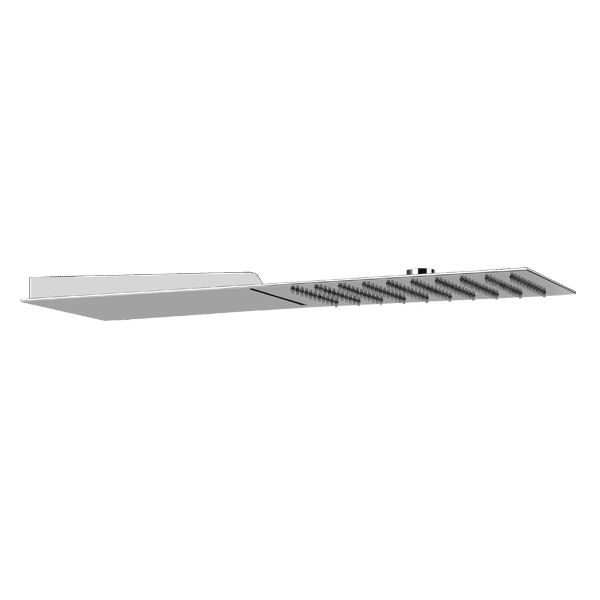 Gessi private-wellness Trimillimentri Square Rain Shower with Waterfall Wellness