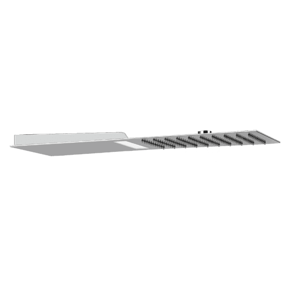 Gessi private-wellness Trimillimentri Square Shower with Light Wellness