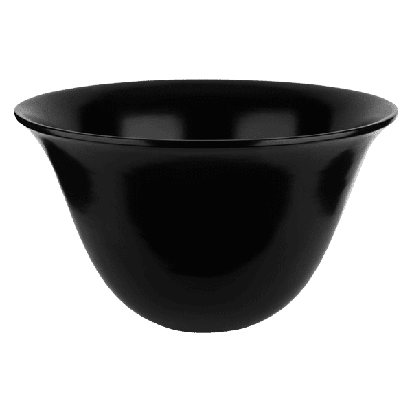 Gessi goccia Goccia Counter Black washbasin 500mm Basins