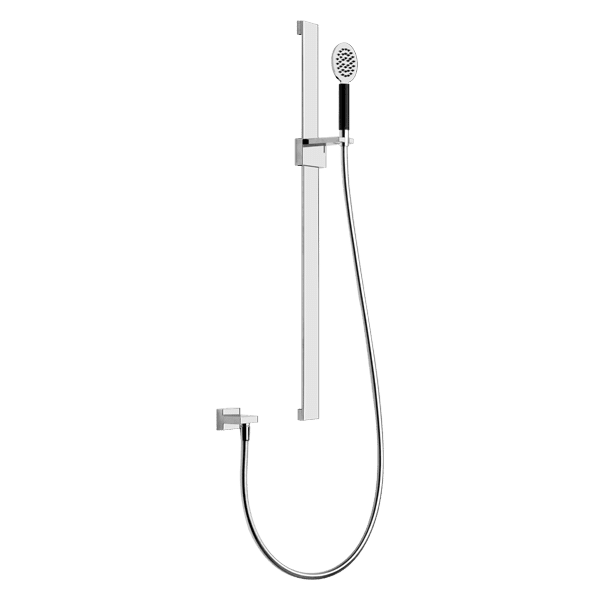 Gessi private-wellness Tremillimetri Round Shower on Rail Wellness