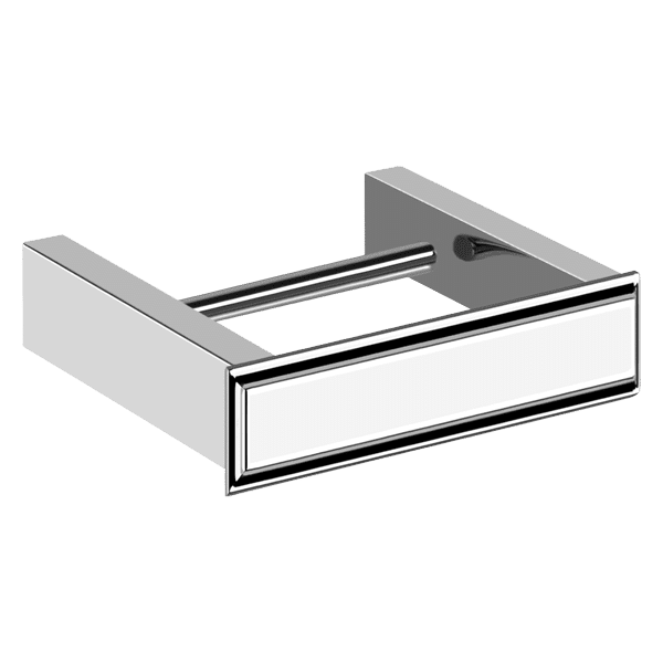 Gessi gessi-eleganza Eleganza Wall Mounted Toilet Roll Holder Accessories