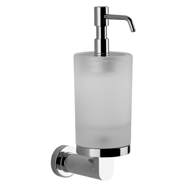 Gessi Emporio emporio Emporio Wall Mounted Soap Dispenser in White Glass Accessories