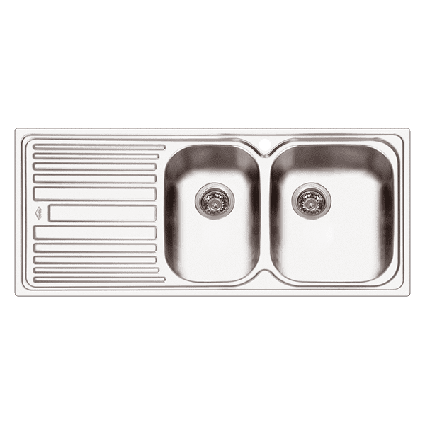 Abey abey-deluxe Deluxe 180 1  & 3/4 bowl Kitchen Sinks