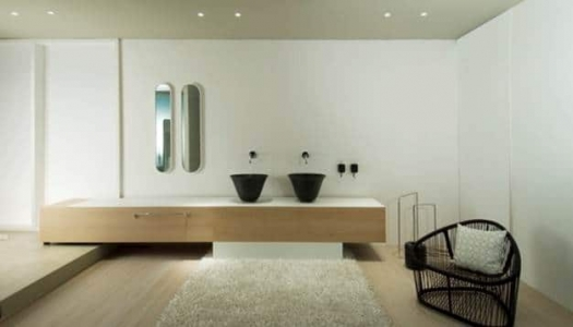 9157 GESSI Goccia Mirror | 33684 GESSI Goccia Built In Mixer With Spout | 38014B GESSI Goccia Black Soap Dispenser | 39138 GESSI Goccia Built-In WashBasin Black GRES | 38008B GESSI Goccia Black Tumbler
