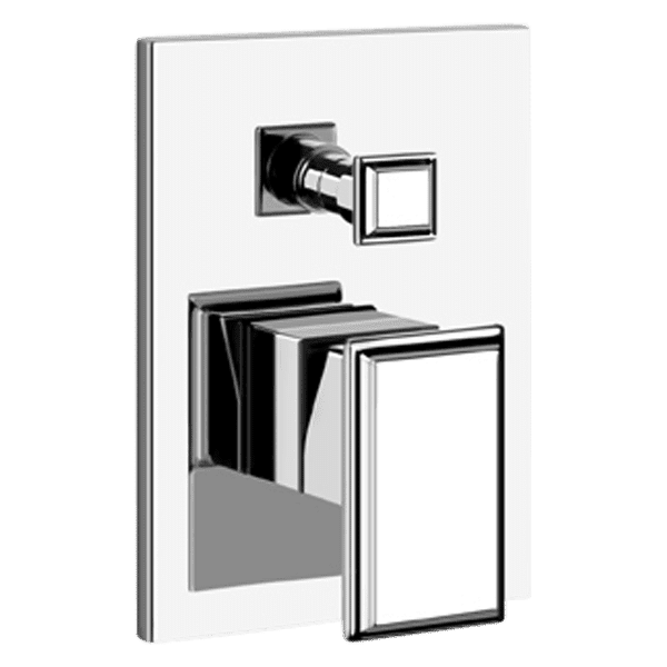 Gessi gessi-eleganza Eleganza Wall Mixer with Diverter Wall & Basin Mixers