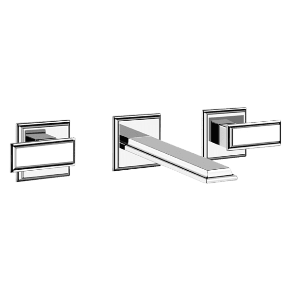 Gessi gessi-eleganza Eleganza Three Hole Basin Mixer Set Wall & Basin Mixers