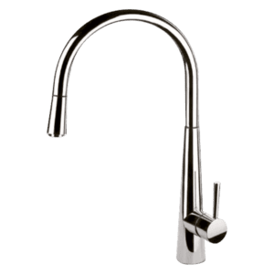 Gessi Just Just Sink Mixer With Pull-Out Kitchen Taps & Mixers