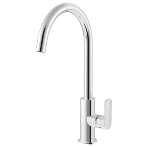 Gareth Ashton madison-avenue Gooseneck Sidelever Kitchen Mixer Kitchen Taps & Mixers