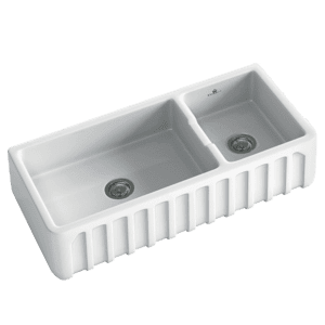 Chambord chambord-louis Chambord LOUIS One & 1/2 bowl ceramic Kitchen Sinks