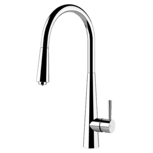 Gessi Just Just Pull Out Colour Mixer Kitchen Taps & Mixers