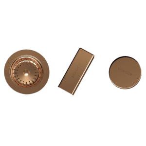 Abey  Schock Sink Trim Kit Rose Gold Sink Accessories