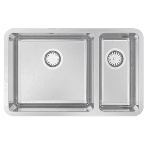Abey lago Lago Undermount One & a Half Bowl Kitchen Sinks