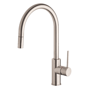Oxygene Gooseneck Sink Mixer With Pull-Out