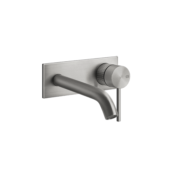 Gessi 316-meccanica Meccanica 316 Wall Mixer with Spout with Plate Wall & Basin Mixers
