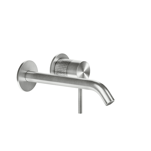 Gessi 316-cesello Cesello 316 Wall Mixer with Spout Without Plate Wall & Basin Mixers